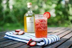 Rhuby Rose summer cocktail