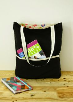 Reversible tote bag, sewing pattern bag tutori, bag sew, sew pattern, sensat sew, fabric bag, tote bags, revers tote, sewing patterns