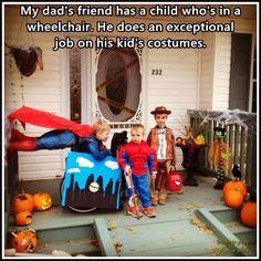 #Wheelchair costume