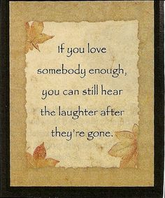 Beautiful, good words.