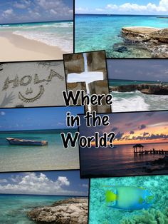 "TOUCH this image: Destination Scavenger Hunt with Pic Collage and Thinglink ""Where in the World?"" by Jamie Forshey"