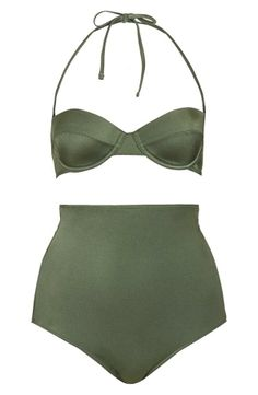 Va-va-voom! Topshop Push-Up High Rise Bikini.