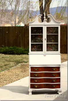 two-toned french secretary desk
