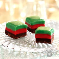Save room for dessert! Fun and festive, this Holiday Mint Fudge is a perfect way to end your Christmas dinner. #SweetenTheSeason