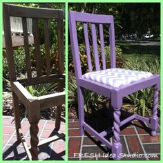 The Gracie Chair Before & After