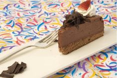 Holland America Chef Rudi's Recipes: Grand Marnier Chocolate Mousse Cake