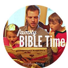 Popsicle family Bible time