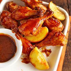 Super Simple Peachy Barbecue Chicken