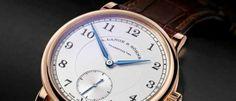 A. Lange & Söhne 1815 Estética de gran sencillez que recuerda a los relojes de bolsillo, con tres versiones en oro amarillo, blanco y rojo.