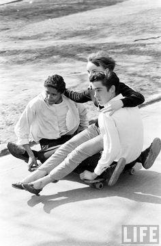 skateboarding, 1960's, nyc.