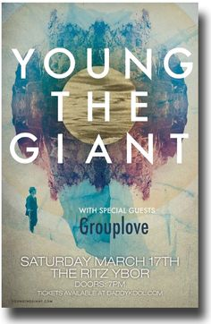 Poster for Young The Giant #YoungtheGiant $9.84