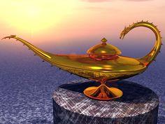 Dragon Genie Lamp