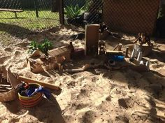 """Sand area at Five Star Family Day Care Maitland ("""",)"""