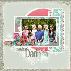 Best Dad...Father's Day Layout
