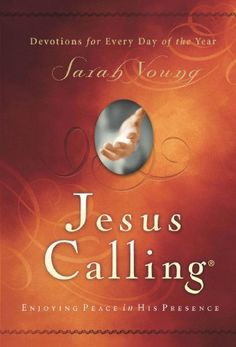 Jesus Calling: Enjoying Peace in His Presence by Sarah Young. $12.23. http://www.letrasdecanciones365.com/detailp/dpsix/Bs0i0x3fIjYIe7yIu2b.html. Author: Sarah Young. Publisher: Thomas Nelson (October 12, 2004). 398 pages. Uniquely inspired treasures from heaven for every day of the year by missionary Sarah Young.Jesus Calling is a devotional filled with uniquely inspired treasures from heaven for every day of the year. After many years of writing in her pra...
