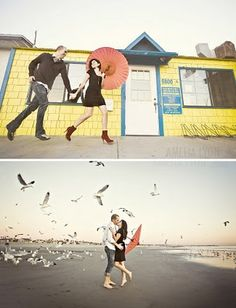 I do ... Inspiration: {Eye Candy} Engagement Photoshoots with Umbrellas