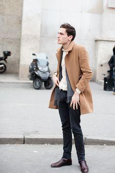 On the Street….. Camel Coats, Paris & Florence