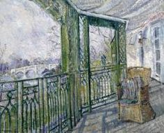 Louise Pickard 'The Green Balcony', Richmond c.1927