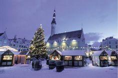 Christmas Market in Estonia//Tallinn