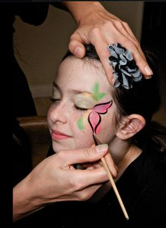 Fairy Party Facepainting. Maybe get and bring some face paint for fun? :)