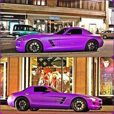 Super Hot Mercedes SLS AMG