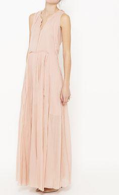 Maxi Dress, fashion, Vaunte, pink, spring 2014