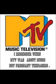 When MTV used to literally be about music!