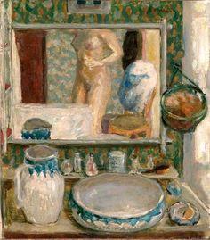 Pierre Bonnard -La table de toilette, 1908