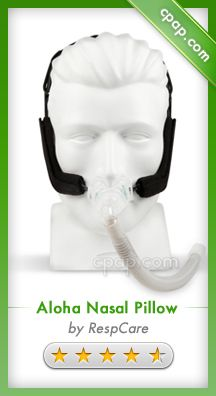 The Aloha Nasal Pillow CPAP Mask offers the CPAP user adjustment and control to improve the seal that is unlike any other system. The depth and angle of the nasal pillows can be altered to offer the best fit and comfort for the individual while the swivel at the hose connection offers flexibility for active sleepers. Click on the image above for more information!