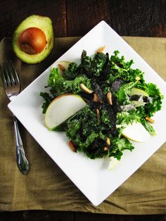 Kale n Avocado Salad