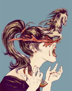 Siyu Chen. (siyuart.com) #illustration