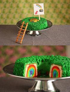 st patty's day cake