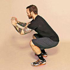 For non gym days - Bob Harper's Fat Blasting 20 min Workout