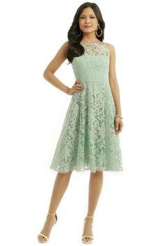 Nanette Lepore Spearmint Alina Dress