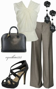 Work Outfits | Charcoal