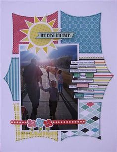 """""""The best day ever"""" by Angela, as seen in the Club CK Idea Galleries. #scrapbook #scrapbooking #creatingkeepsakes"""