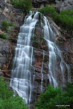 Bridal Veil Falls, Provo Utah