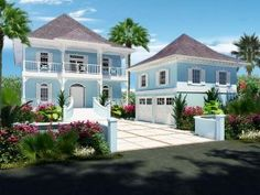 Houses in the Bahamas