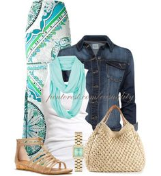 Outfit Ideas For Spring And Summer
