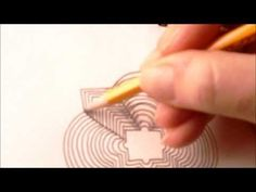 How to draw tanglepattern Cheers - YouTube