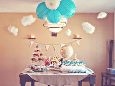 Oldie but goodie from last year: Our BFF's Vintage Travel themed baby shower