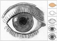 MC Escher Eye Drawing...I loved drawing eyes in Art Class when I was younger!