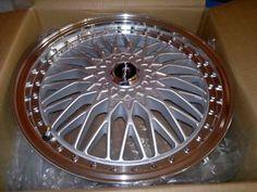 "17 inch Racing Heart ""Retro"" wheels"