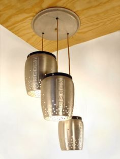 From vintage canisters to kitchen lights.