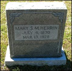 Tombstone Tueday - Mary Matilda Bynum #genealogy #familyhistory