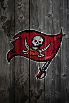 Tampa Bay Buccaneers Wood iPhone 4 Background