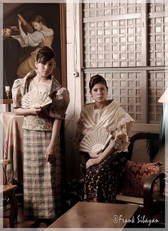 Filipiniana, National Dress of the Philippines by Frank Sibayan, via Flickr