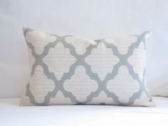 Elegant Cream and Sage Decorative Trellis Lumbar Pillow,12x18in decorative pillow,Trellis Pillows,pillow cover,cushion cover, Neutral Pillow on Etsy, $32.00