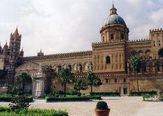 church, architectur, cathédral, sicili, cathedral, build, palermo, italy, sicily