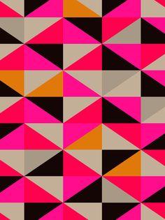 colour #pattern 5 Art Print by Georgiana Paraschiv)